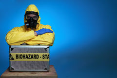 Biohazard Stockbild