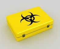Biohazard background Stock Image