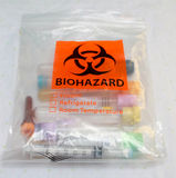 Biohazard Bag Royalty Free Stock Images