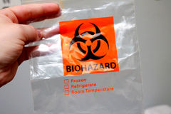 Biohazard Bag Stock Image