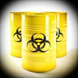 Biohazard barell Stockbilder