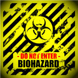 Biohazard_bg Royalty Free Stock Photos