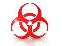 Biohazard concept Royalty Free Stock Images