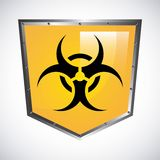 Biohazard design Royalty Free Stock Photography