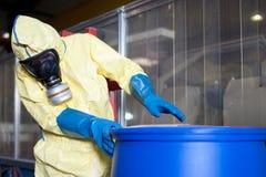 Biohazard disposant expert photo stock