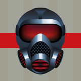 Biohazard Gas Mask Icon Royalty Free Stock Image