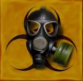 Biohazard gasmask 库存照片