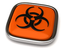 Biohazard icon Royalty Free Stock Photo