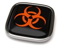 Biohazard icon Royalty Free Stock Image