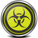 Biohazard Icon Royalty Free Stock Photography