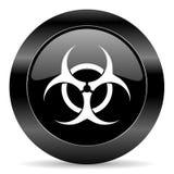 Biohazard ikona Zdjęcie Royalty Free