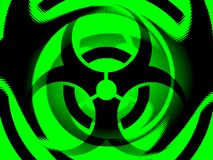 Biohazard illustration Stock Images