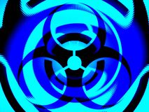 Biohazard illustration background Stock Photos