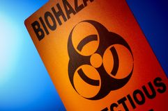 Biohazard: Infectious Waste Stock Image