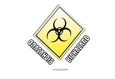 Biohazard logo Stock Images