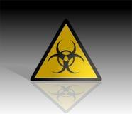 Biohazard logo Stock Image