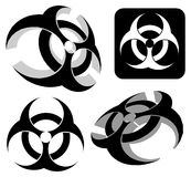 Biohazard logo Royalty Free Stock Photography