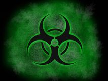 Biohazard nuclear industry , artistic style logo, super quality abstract business poster. Great quality work. On this picture you can see some high quality and royalty free stock image