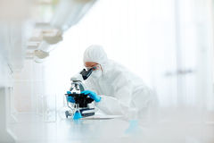 Biohazard research Royalty Free Stock Photography