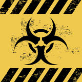 Biohazard ribbon Stock Photo