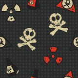 Biohazard seamless Stock Images