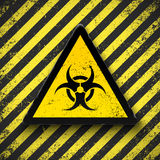 Biohazard sign. Stock Photo