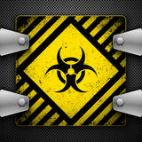 Biohazard sign. Stock Photography