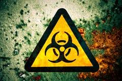 Biohazard sign Stock Images