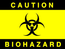 Biohazard sign Stock Photography