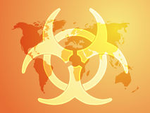 Biohazard sign Stock Photos