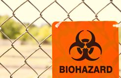 Biohazard sign. Royalty Free Stock Images