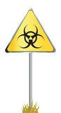 Biohazard sign icon Stock Image