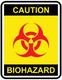 Biohazard sign Royalty Free Stock Images