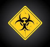 Biohazard signal Stock Photos