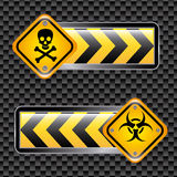Biohazard signs Royalty Free Stock Image