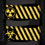 Biohazard signs Royalty Free Stock Photo