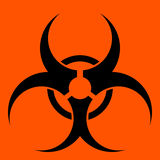 Biohazard Symbol Stock Photo