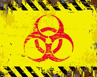 Biohazard Symbol Sign Royalty Free Stock Images