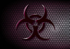 Biohazard symbol Royalty Free Stock Photography