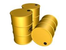 Biohazard waste Stock Image