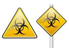 biohazardtecken Arkivbilder