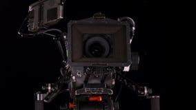 Biokamerafjärrkontroll stock video