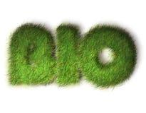 Biokonzeptauslegung eco freundlich Stockbild