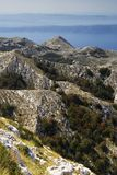 biokovo krajowy charakter park Fotografia Royalty Free