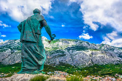 Biokovo mountain in Croatia, Europe. Royalty Free Stock Photo