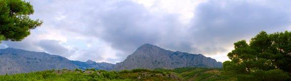 Biokovo mountain range Royalty Free Stock Photo