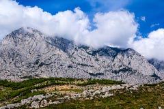 Biokovo mountain range Royalty Free Stock Photography