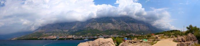 Biokovo mountain range Royalty Free Stock Image