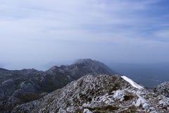 Biokovo mountain view Stock Photography