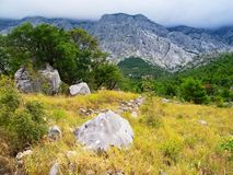Biokovo Mountain Royalty Free Stock Photos